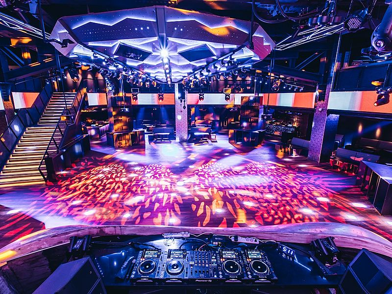 Zouk Singapore Clarke Quay nightclub