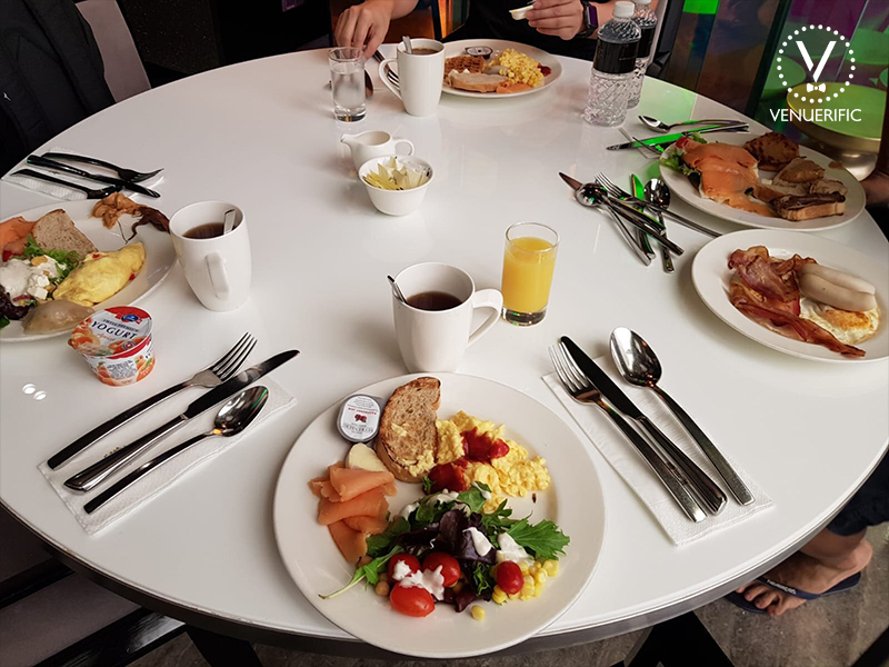 super delicious breakfast grand park orchard