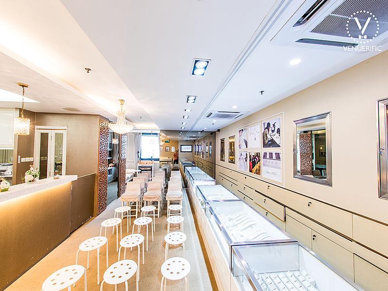 elegant diamond gallery for event