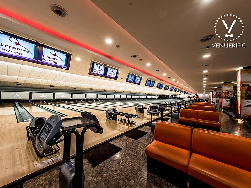 singapore bowling event space for team building