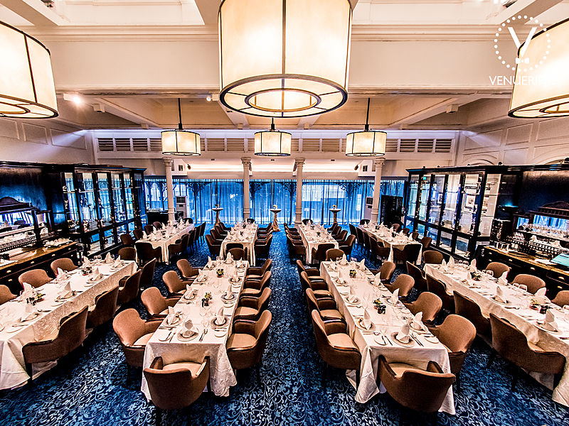 spacious restaurant with perfect ambience