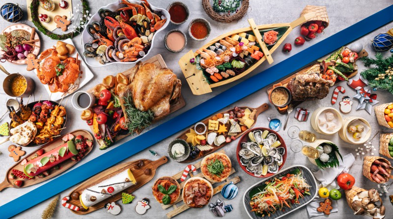 shangri la singapore christmas buffet