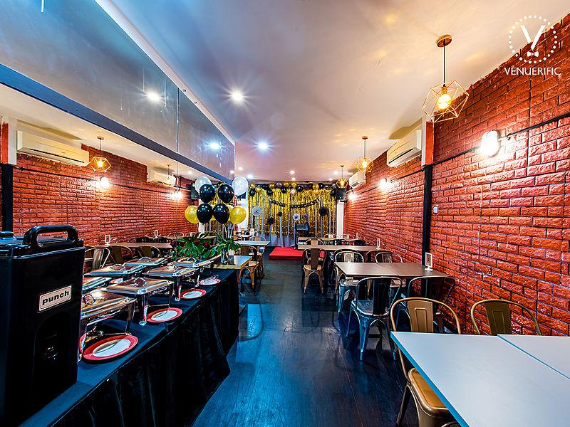 vibrant dining party venue singapore