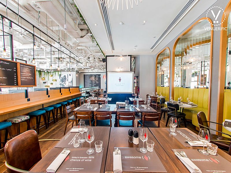 Great dating ideas at Ginett Restaurant and Wine Bar Singapore