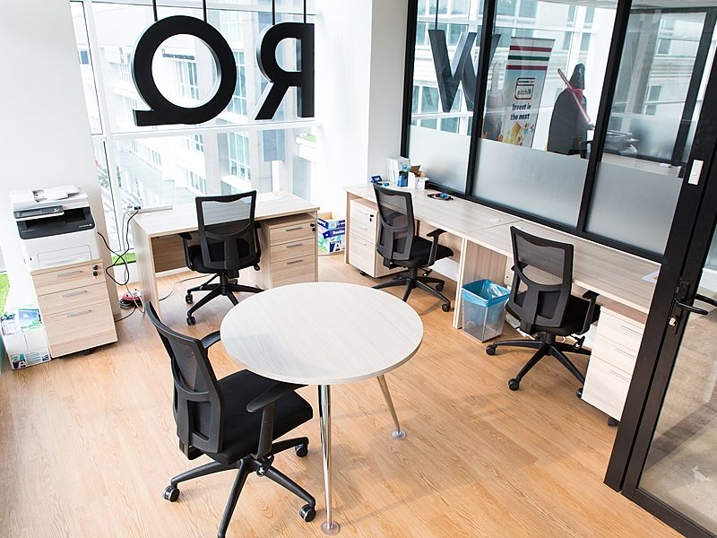 Office at WORQ Coworking