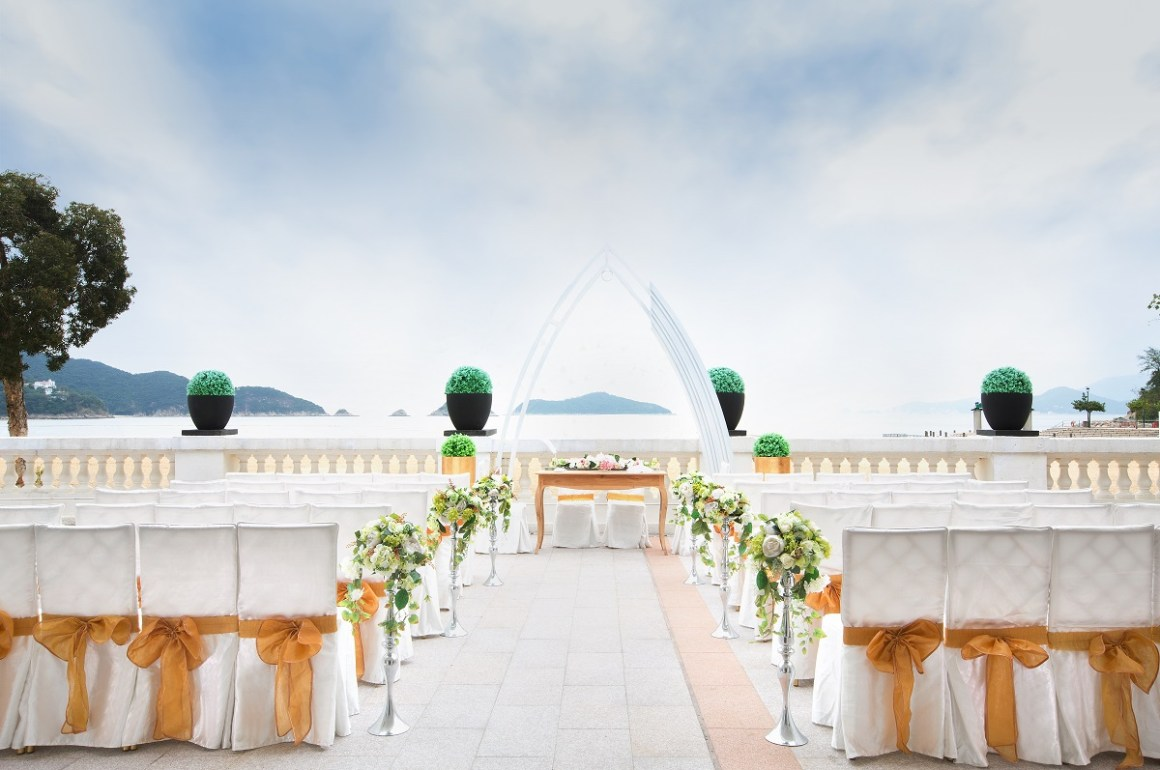 wedding hong kong beachside