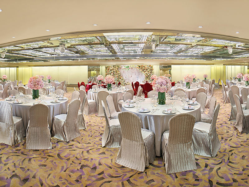 cosy ballrooms at regal kowloon hotel