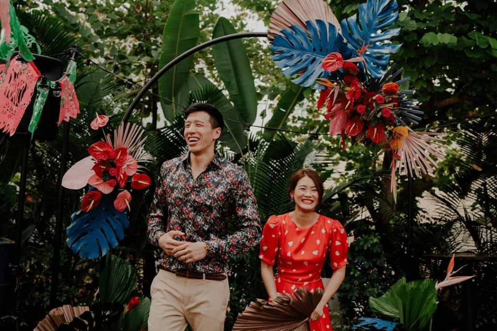 unique wedding theme singapore