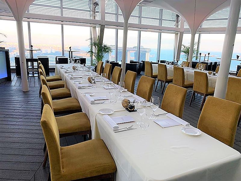 singapore wedding venue with sky view