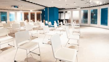 multi-purpose hall in singapore with white interior