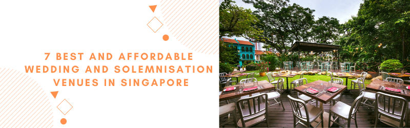 cheap solemnization wedding venues singapore