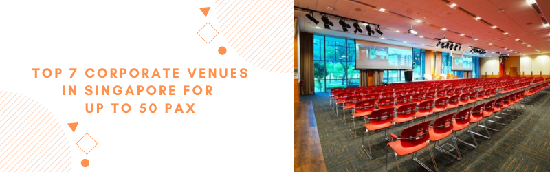corporate event space in singapore for up to 50 pax