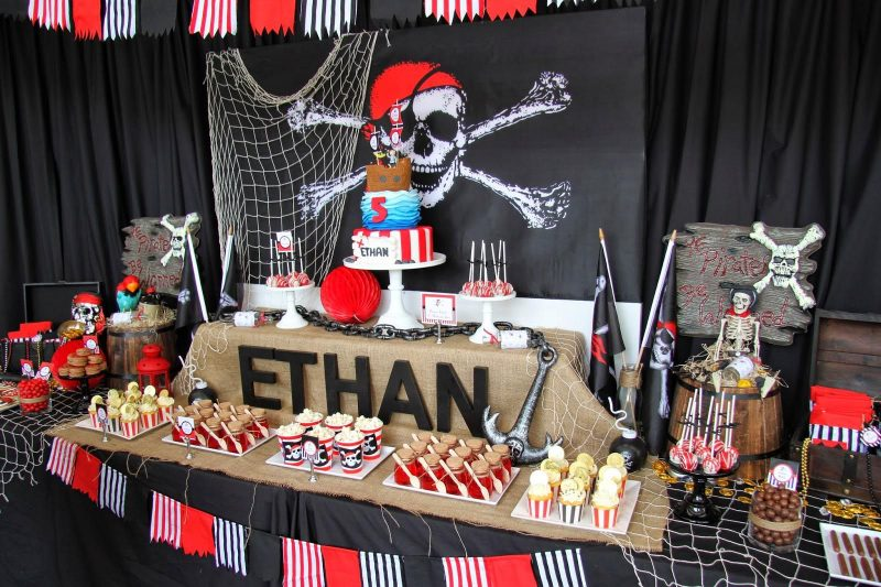 Pirate Party decoration