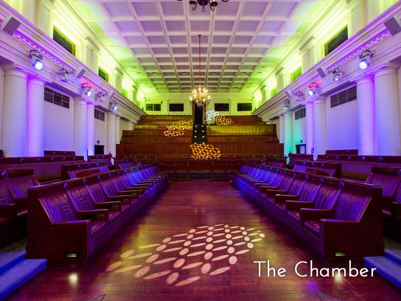 the chamber at the arts house