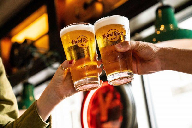 Hard Rock Cafe Singapore Beer