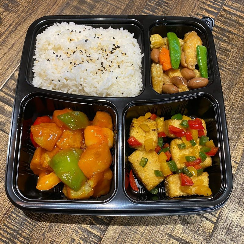 chinese takeaway bento #StayHome