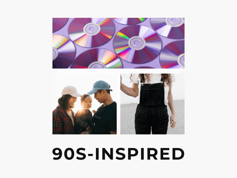 90s inspired theme birthday party