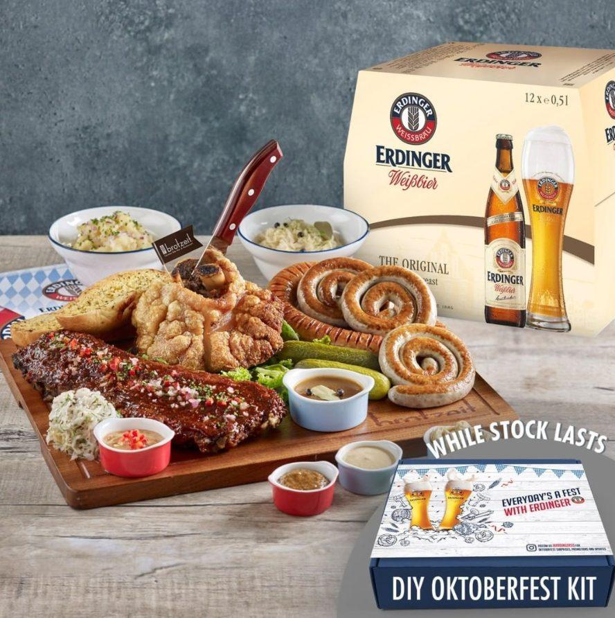 Bavarian feast for Oktoberfest