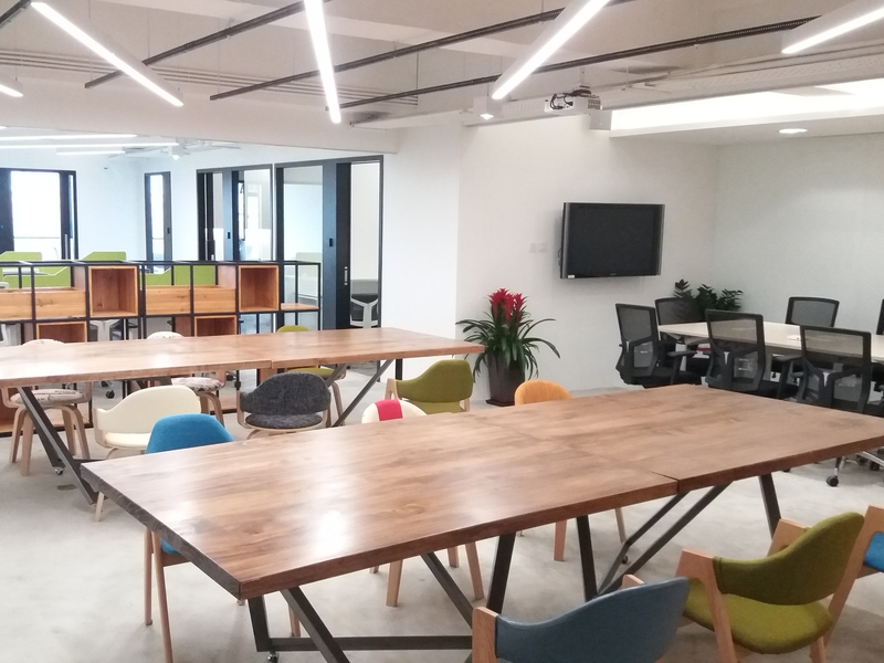 large co working space