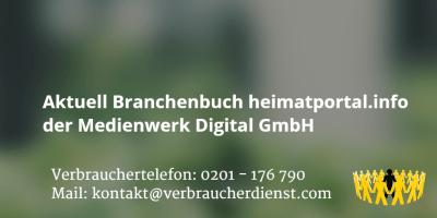 Beitragsbild: Aktuell Branchenbuch heimatportal.info der Medienwerk Digital GmbH
