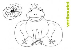 Malvorlage Frosch › vertbaudet Blog - Ein Familien Blog