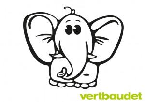 Malvorlage Elefant › Vertbaudet Blog