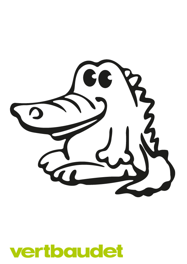 Malvorlage Krokodil › vertbaudet Blog - Ein Familien Blog