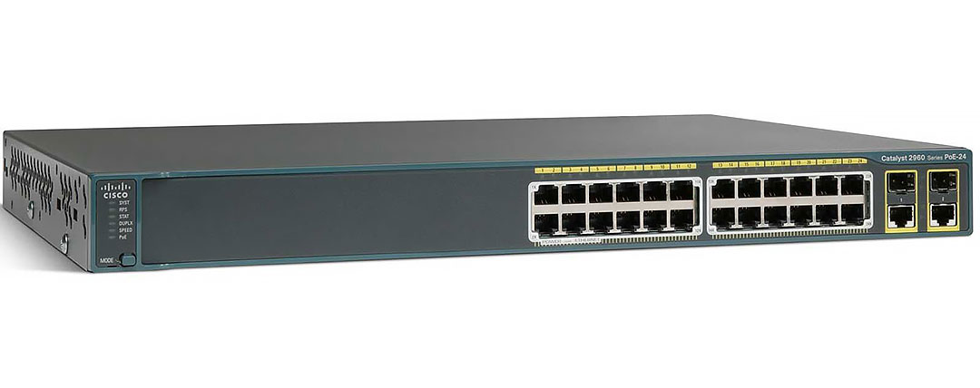 Cisco Catalyst WS-C2960X-24PS-L – 24 Port Manageable Ethernet Switch With PoE