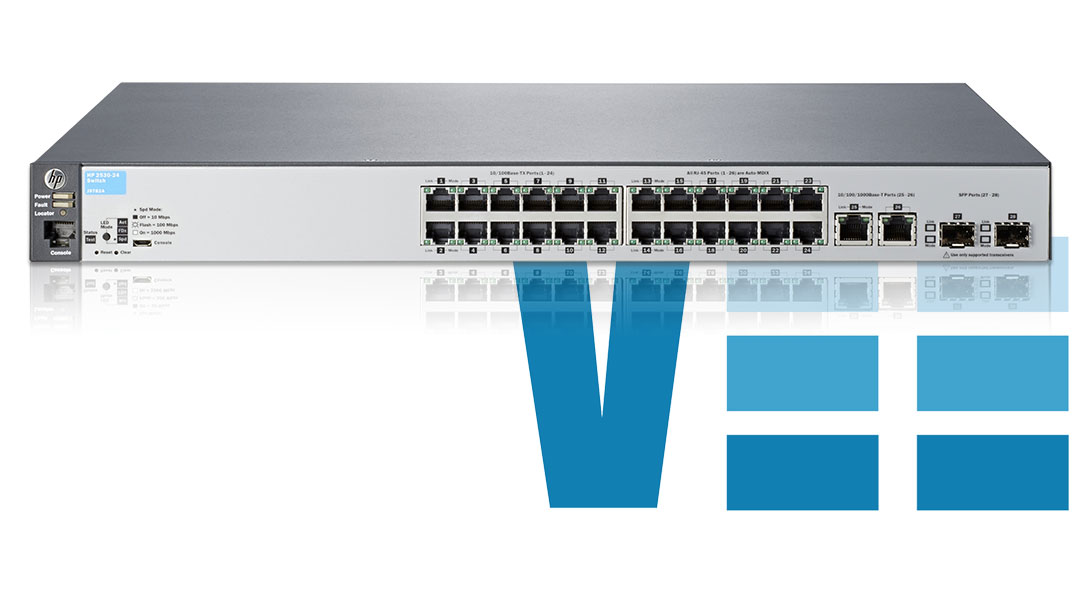 HPE Aruba 2530 Switch Series Specs Comparison