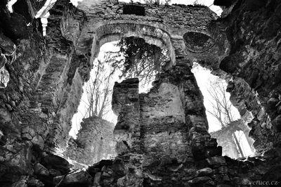 Zřícenina kaple - Malý Blaník