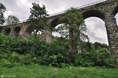 viadukty Kryštofovo Údolí