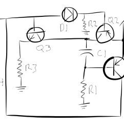 blinking led circuit [ 1024 x 768 Pixel ]