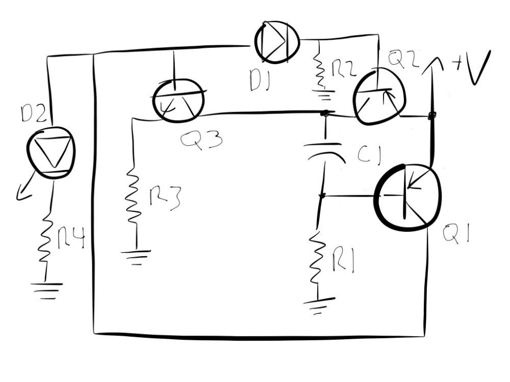 medium resolution of blinking led circuit