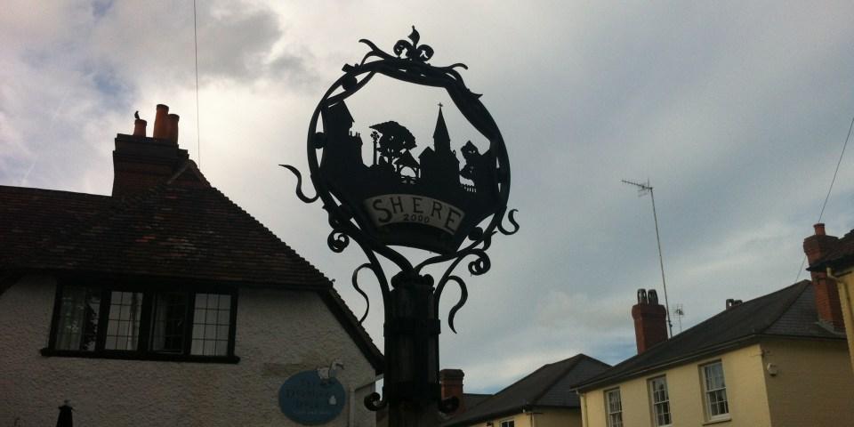 Английская деревня Shere village