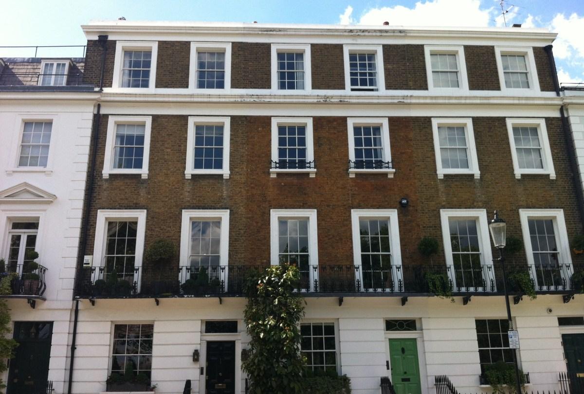 Английские окна: висячий саш