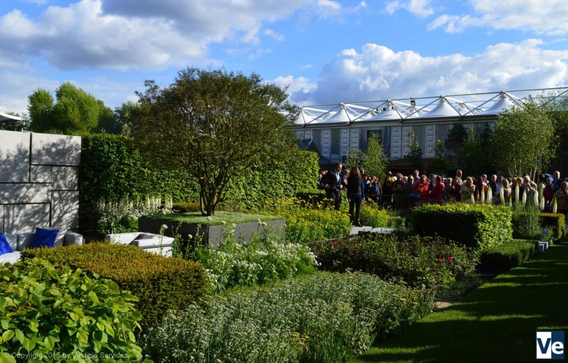 Маркус Барнетт: неопластицизм The Telegraph Garden