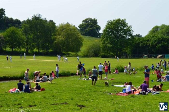 Пасторальная Англия: пикник на обочине