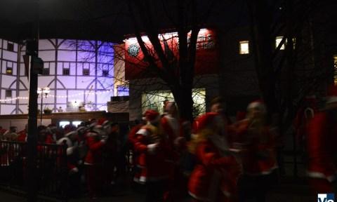 Рождественская игра Secret Santa в Англии: Дед Мороз