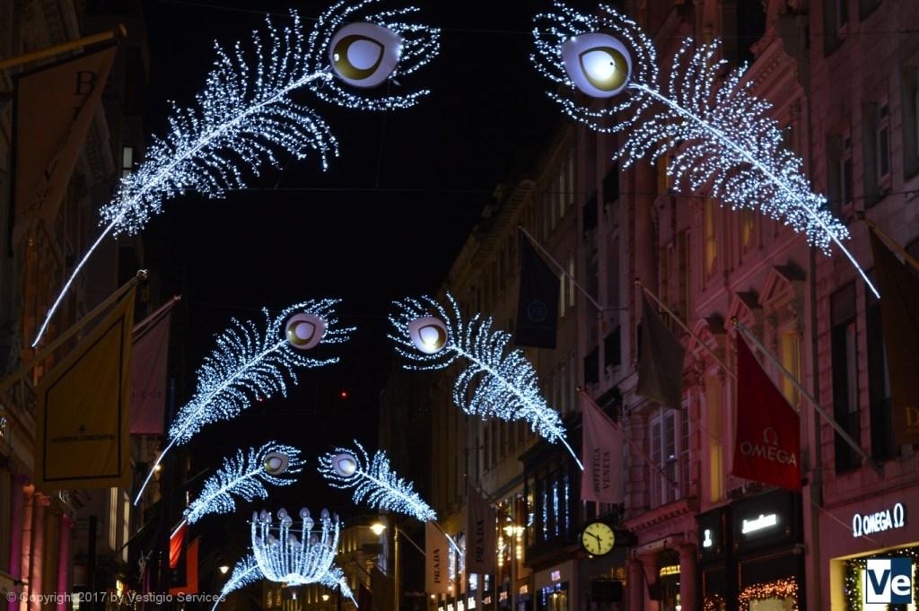 Встречая Рождество в Лондоне: нас зовут праздничные огни