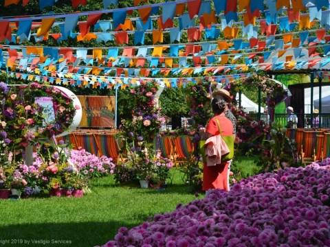 Фестиваль Садов Хэмптон-Корт RHS Hampton Court Garden Festiva
