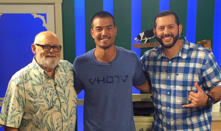 Jeremy Guthrie with Jim Leahey and Kanoa Leahey on Leahey & Leahey: Episode 12