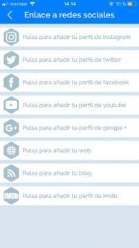 enlace redes app