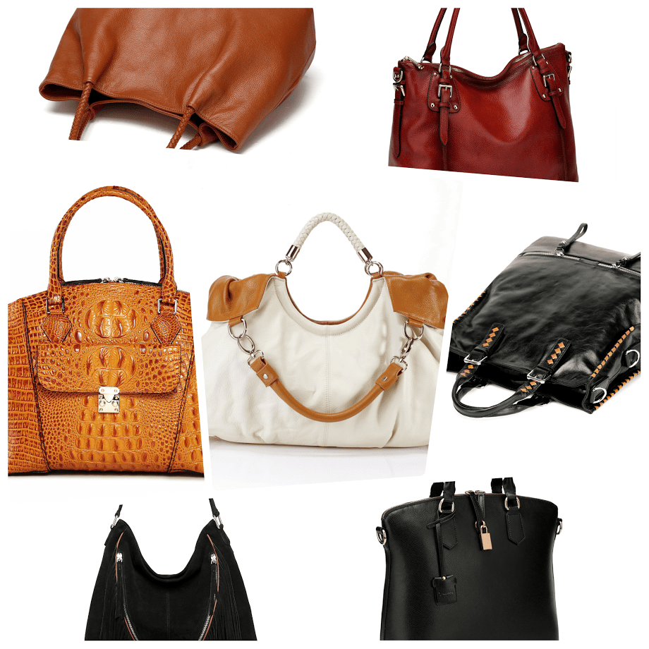 7 Super Practical Leather Handbags - Hobo, Crossbody, Tote and Satchel