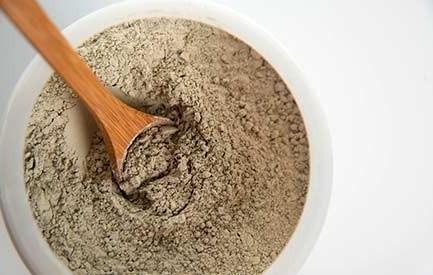 Bentonit absorbiert radioaktive Elemente