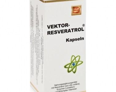 Natürlicher Jungbrunnen – Vektor-Resveratrol