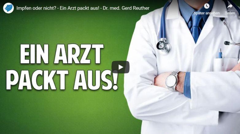Impfen oder nicht? - Ein Arzt packt aus! - Dr. med. Gerd Reuther