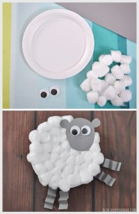 Chick & Lamb Easter Craft - Vicky Barone