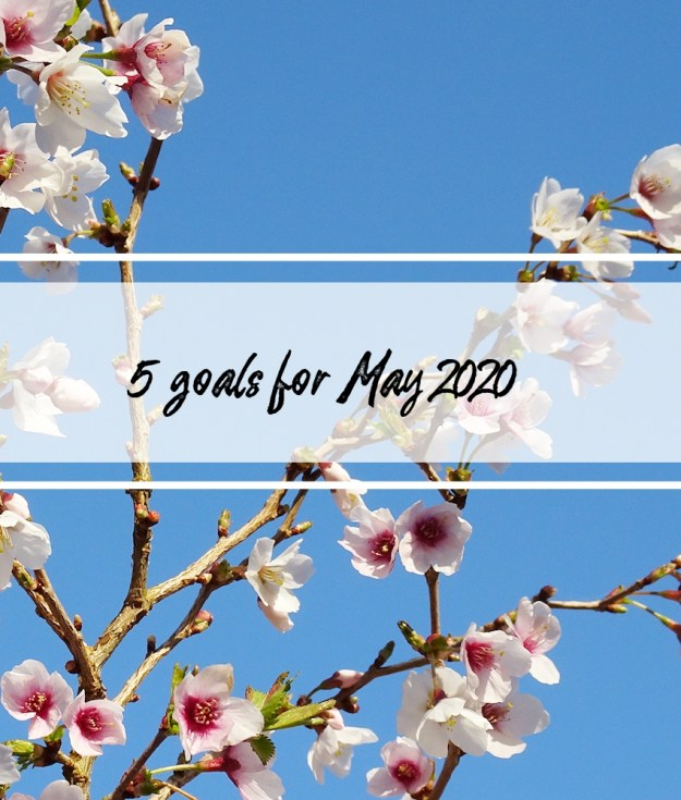 5 goals for May 2020 title image