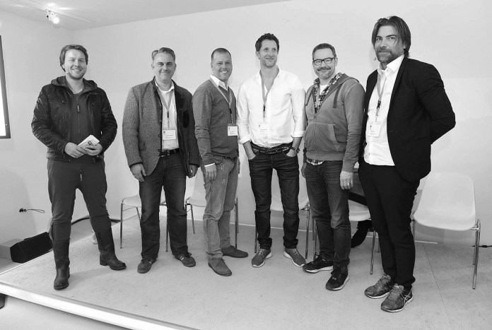 Moderating the Advance Day for Startups 2015 in Cologne featuring the legendary Morten Lund. Image copyright Mediencluster NRW / Heike Herbertz