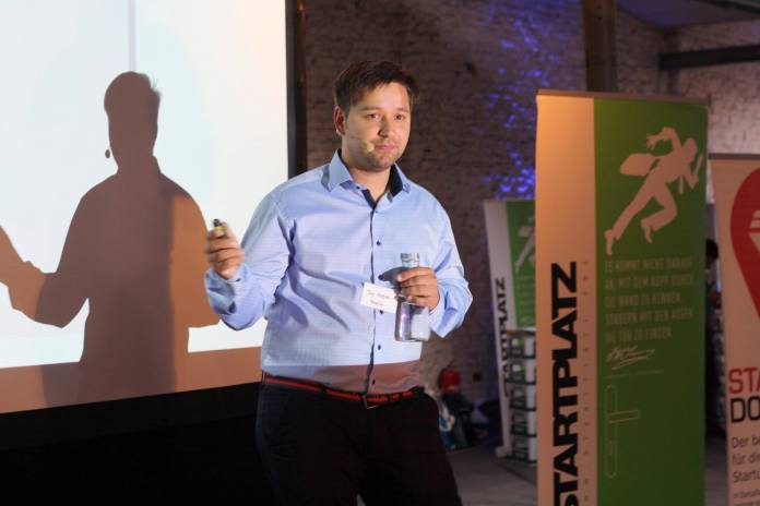 Four regional startups pitched